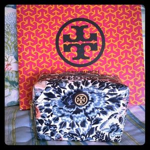Tory Burch Handbags - Genuine Tory Burch makeup bag