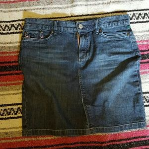 Size 6 Old Navy denim mini skirt