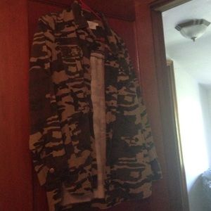 Forever 21 Camo Jacket