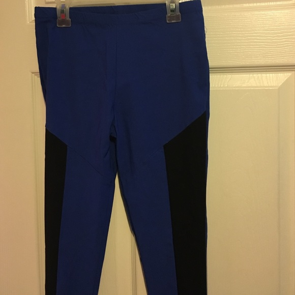 a6c991cb3fd Madrag Pants - Blue and Black Tights