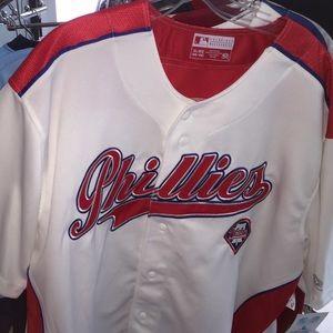 Phillies jersey XL