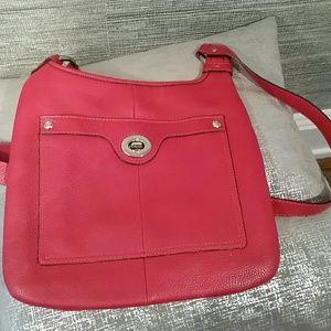Red Coach crossbody bag!