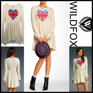 Wildfox Dresses & Skirts - ❗️1-HOUR SALE❗️WILDFOX Mini Dress British Babe