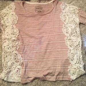 We the Free by Free People lace shirt.