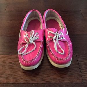 Sperry Shoes - Hot pink boat shoes