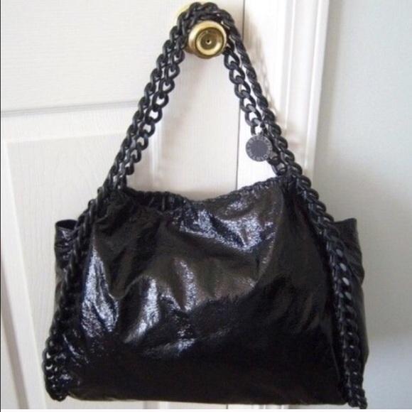 Authentic Stella McCartney Patent Falabella Bag. M 572fd4cb2ba50a7c2f05c255 a9330c933cd28