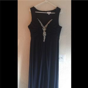 Jcpenney Dresses Beautiful Navy Blue Prom Dress Poshmark
