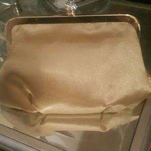 Handbags - Gold/ mustard color evening clutch
