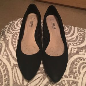 Poshmark Shoes - Poshmark Black Wedge Flats