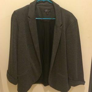 Topshop cotton blazer