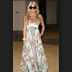 Tricia fix vintage maxi dress!