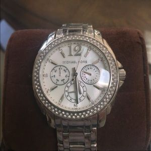 Silver Michael Kors watch
