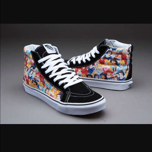 Vans Shoes | Disney Vans Princess High