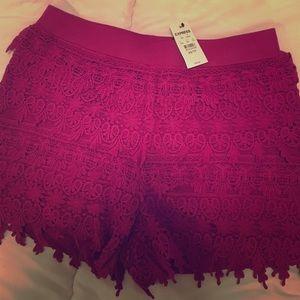Size XS Express Shorts