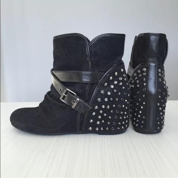 Aldo Shoes | Aldo Studded Wedge Slip On