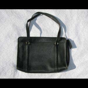 Vintage Coach Briefcase Laptop Large Handbag Bag