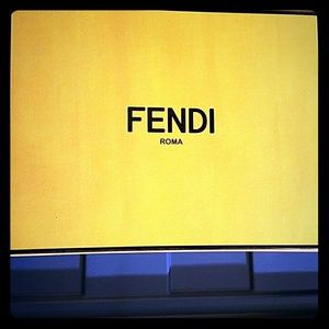 Fendi Magnetic Box-9.5x8.5x4