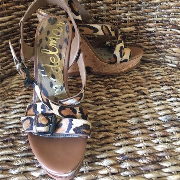 d5f0717e0 Sam Edelman Josie Leopard Sandal