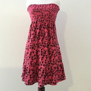 Juicy Couture Dresses & Skirts - Polka dot velour juicy couture dress