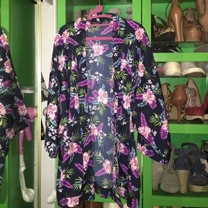 Floral Kimono by New Look