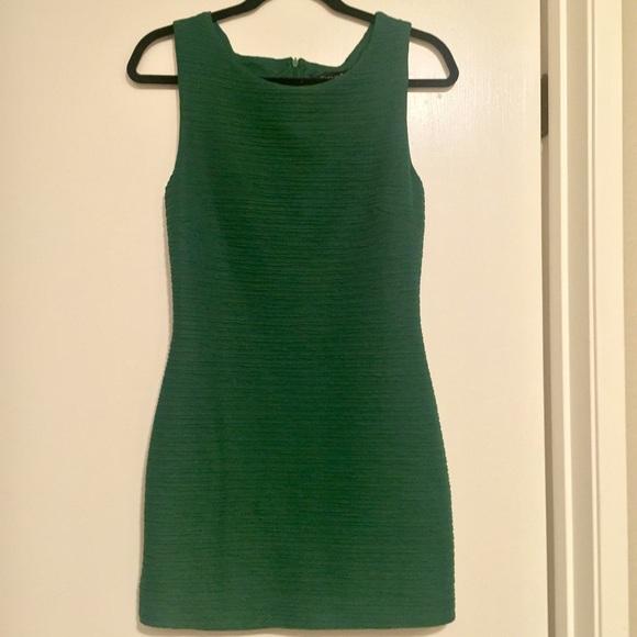 f297c2047d3 Forever 21 Dresses | Emerald Green Bandage Dress | Poshmark