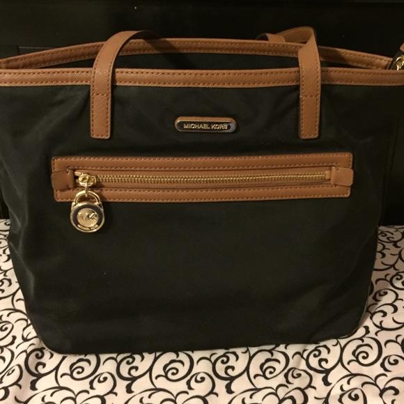 5bdb55026d63 Michael Kors Bags | Black And Brown Bag | Poshmark