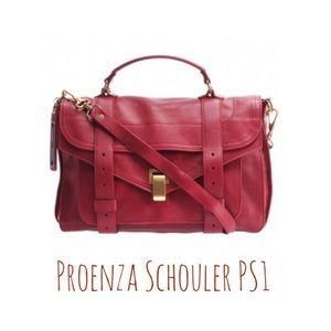 Proenza Schouler Handbags - Proenza Schouler PS1 medium satchel chianti red