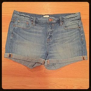 {J Crew} Denim Shorts, 30