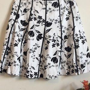 Dresses & Skirts - Black and White Floral skirt