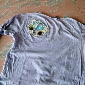 Brooklyn Industries Distressed Owl T-shirt