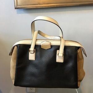 NWT Marc By Marc Jacobs Leather and Suede Satchel
