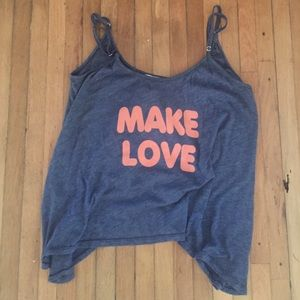 Wildfox make love tank