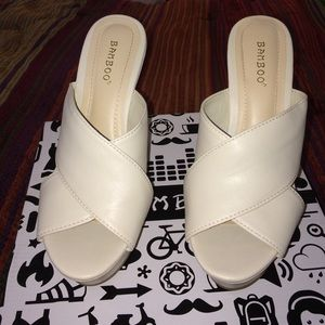 Bamboo ivory wedges