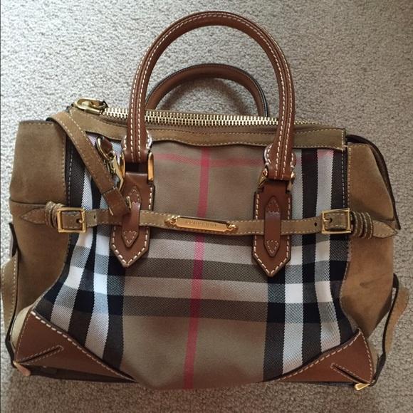 2c16d5ec52b7 Burberry Handbags - BURBERRY PRORSUM Bridle Convertible Bowler Bag