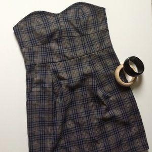 Strapless Mini Dress Sz S