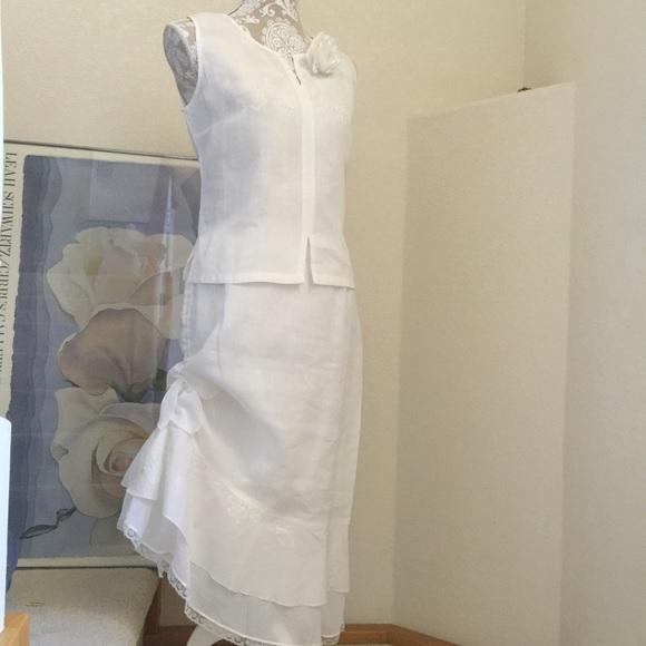 Made in France Dresses | Linen Dress Usa 8 | Poshmark