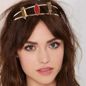 Gems rocks crystals headband