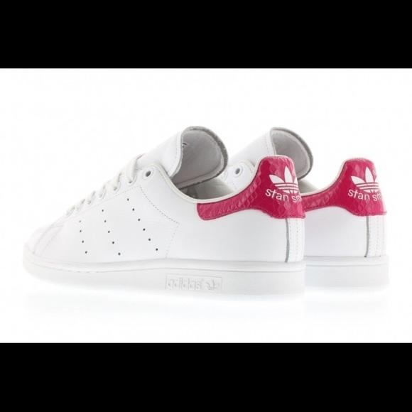 adidas stan smith snake pink