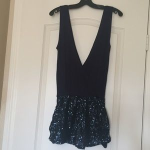 041678e2832 ASOS Petite Other - Nwt ASOS Petite navy sequin wrap front playsuit 8