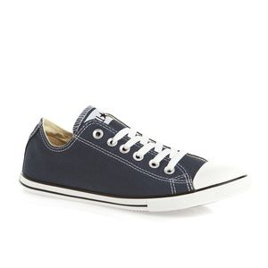 skate shoes casual shoes best place Converse Allstar Slim Ox in navy (thin sole) sz 8