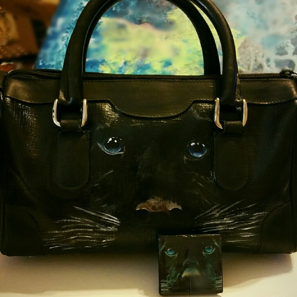 9940fdc35 Gucci Bags | Final Drop Authentic Panther Boston Bag | Poshmark