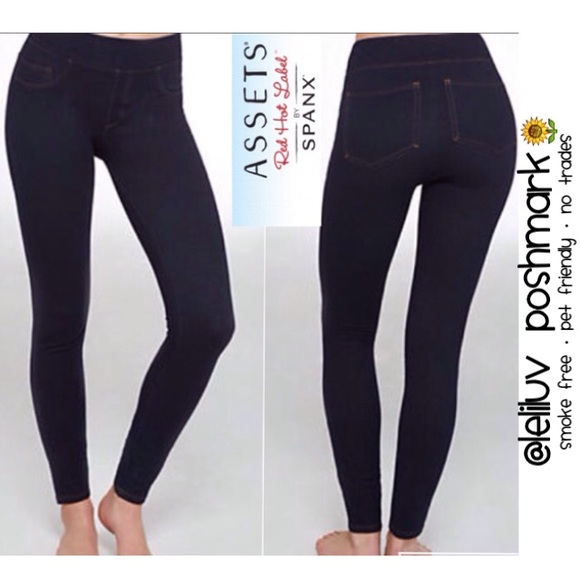 a61e5784b488e Assets by Spanx Structured Jegging midnight indigo