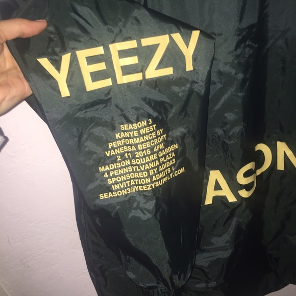 Yeezy jackets coats season 3 invitation windbreaker jacket yeezy season 3 invitation windbreaker jacket stopboris