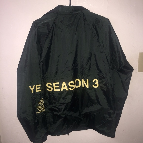 adidas yeezy season 3 windbreaker adidas shoes mens gray