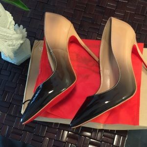 2a2086aafdc Red bottoms ombre
