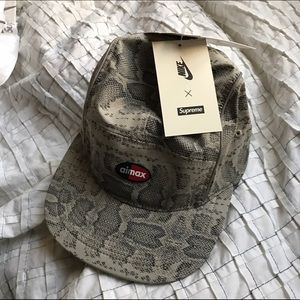 7e542b5e9df Supreme Accessories - Supreme Nike Air Max Running Snake Skin Hat