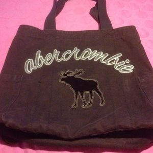 Abercrombie Brown Tote