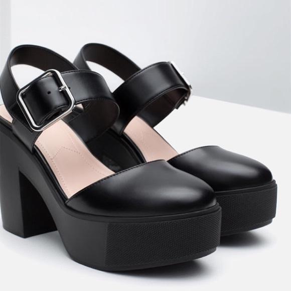746107c08337 Women Shoes by ZARA