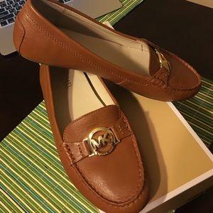 3f7f9de3f0d9a Michael Kors Shoes - Michael Kors Molly Loafers Luggage color