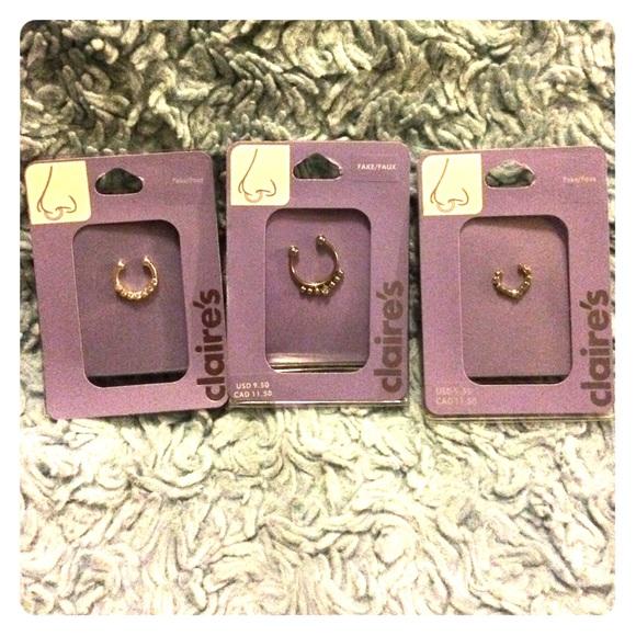 Claire S Jewelry Claires Faux Septum Poshmark